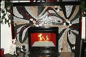 Intricate Designer Fireplaces Starting to Heat Up Interior Design