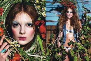 W Magazine Brings Greek Magic Into 'Harvest'