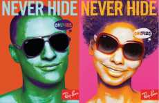 Real Life vs. Photoshop Ads - Ray-Ban Colorize Campaign Asks You to Never Hide