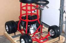 Motorized Barstools - Baron Bob's Racing Machines for the Uninhibited Inebriate