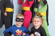 Personalized Superhero Costumes - Super You Helps Kids Officially Become Superhuman