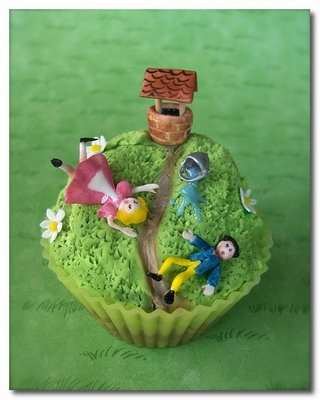 Storytelling Cupcakes - Nursery Rhyme-Themed Baked Goods Are Gorgeous Works of Edible Art