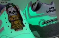 Glow-in-the-Dark Sneakers
