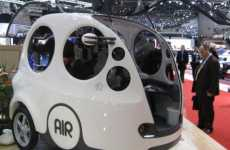 Joystick-Controlled Cars - The MDI Air Car at the 2009 Geneva Auto Show (UPDATE)