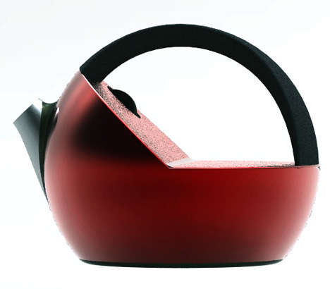Color-Changing Kettles - The 'Creativi*tea Kettle' Fires Up With Heat