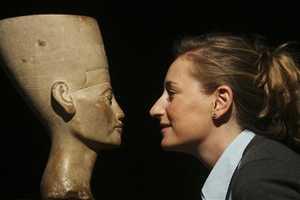 Analysis Indicates Nefertiti Bust Was Enhanced for Beauty