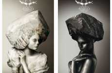 Stone Hairstyles - Milan Salon Intrecci's Ad Campaign Emphasizes Italian Beauty