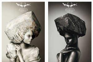 Milan Salon Intrecci's Ad Campaign Emphasizes Italian Beauty