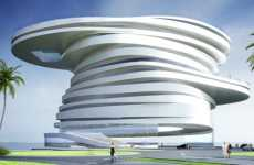 Thunderstorm Architecture - Tornado-Like 'Helix' Building Blows Them Away in Abu Dhabi