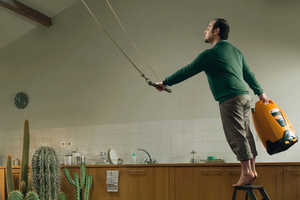 Totalgaz Ads Illustrate Extreme Home Renos