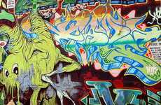 Top 50 Graffiti Trends and Counter Culture Art in Q1 2009
