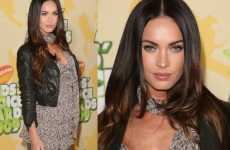 Super Short Leather Jackets - Megan Fox Rocks The Mini Trend