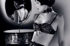 Film Noir Lingerie - Black Lace, Ruffles and Bows for the Fashionable Femme Fatale