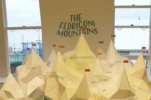 'The Fedrigoni Mountains' by Hattie Newman & Alex Ostrowski