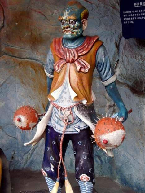 Evil Theme Parks for Marketing - Tiger Balm Gardens (Haw Par Villa) in Singapore