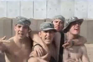 American Soldiers in Iraq Lipsync and Dance to 'NSync