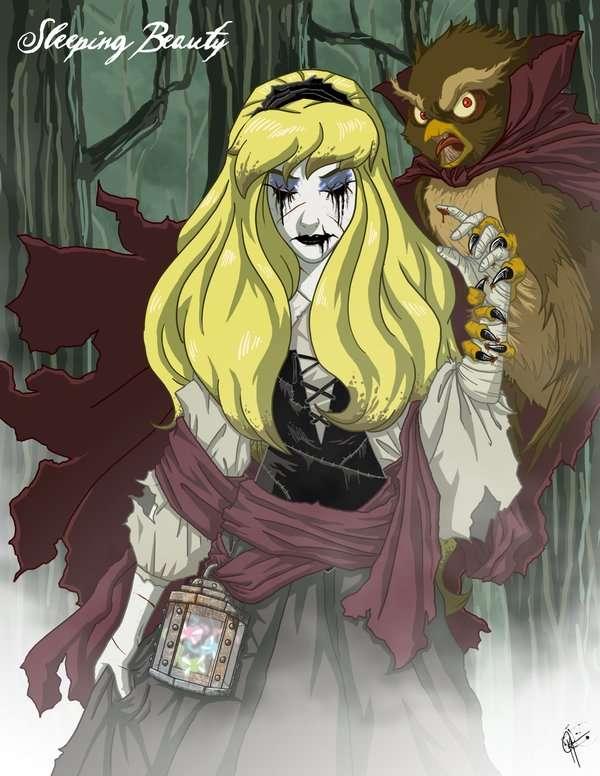 Dark Fairytale Heroines