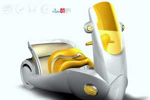 The Protector Three Wheeled Motorcycle Designed for Women and Children