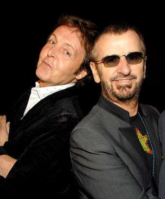 Paul McCartney and Ringo Star Perform For Child Transcendental Meditation