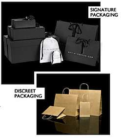 Discreet Consumerism - Net-A-Porter Ships Luxury Goods in Brown Paper Bags