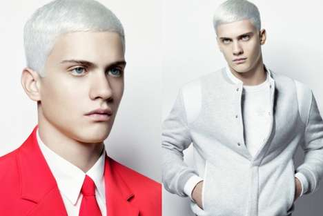Fashionably White Hair