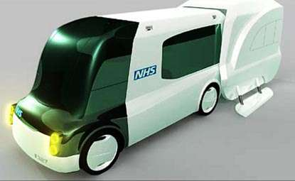 Ambulances of the Future - Emergency Vehicles Could Soon Include Ejector Seats