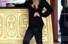 Celebrity Legging Lines - Lindsay Lohan to Design, Model and Promote 6126 Tights