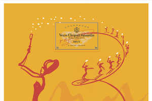 Veuve Clicquot Collaborates with French Artist Florence Deygas
