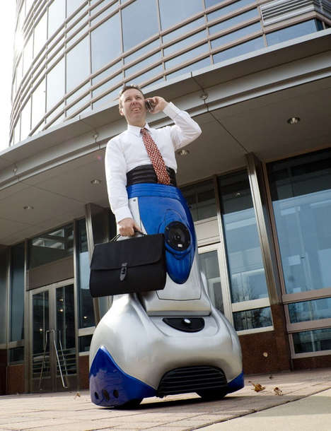 Wearable Transportation - 'The Chariot' Makes You Look Like a Cyborg