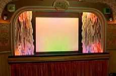 DIY Retro Cinema - Pensioner Turns His Shed Into A Vintage Movie Theatre