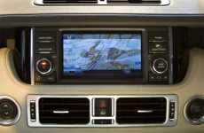 Dual-View Car Touchscreens - 2010 Range Rover's Display Suits Passenger & Driver