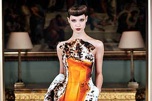Graeme Black Adds Punch To His Fall 2009 Line With Daring Surprises