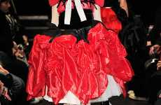 Multi-Cultural Fashion Fusion - Tao Fall Celebrated Folkloric Patterns and Dirndl Skirts