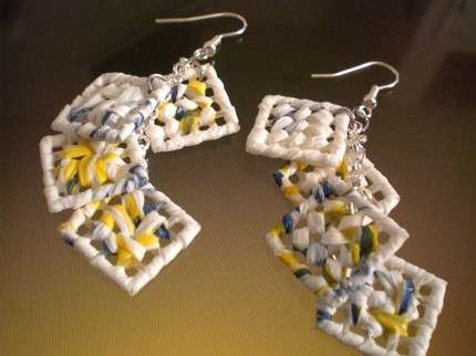 Plastic Bag Jewelry