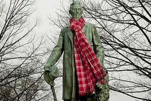 Cornell Trademarks Print in Plaid-Happy Scotland