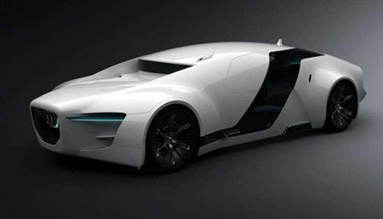 Explosive Futuristic Sedans