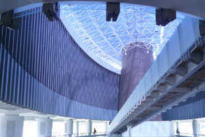 Tsunami Museum is Covered in Water Walls, Filled With History