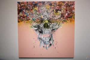 David Choe's 'Death Blossom' Exhibition
