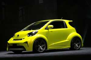 Tiny Toyota Scion iQ Has Big-Wheel Appeal