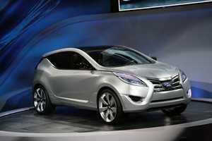 Hyundai Nuvis CUV Debuts at New York Auto Show