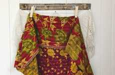 Ethical Community-Beneficial Businesses - At-Risk Women Craft Kantha Bae's Embroidered Products