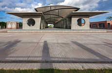 Communal Rural Market Layouts - Tjep and Vaastukalpa Architects Design This Space in Bangladesh