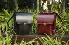 Handmade Buffalo Leather Bags - Jillanie is a Stunningly Elegant and Fashion-Forward Bag for Men