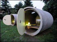Das Park Hotel - Sleep in a Pipe (and Pay What You Wish)