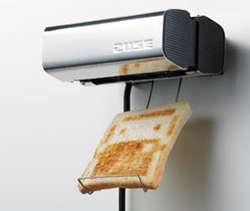 Toast Printer - Zuse Burns Designs Into Your Bread