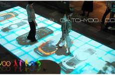 Interactive Tables and Floors