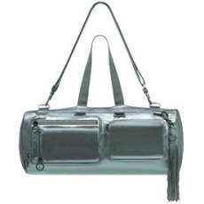 Dior Homme Delville Silver Leather Duffle (Man Purse + Purse)