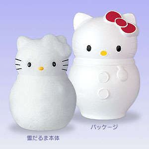Mail Order Snowman - Kitty snowman Delivered To Your Door