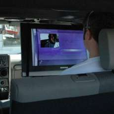 Gamers Safely Cram Xbox Live into Their Ride?