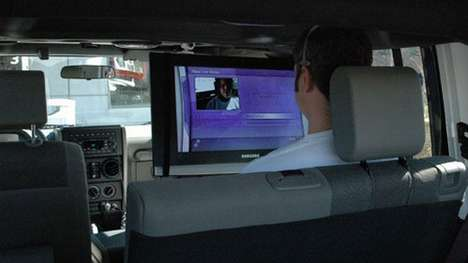 Mobile Gaming - Gamers Safely Cram Xbox Live into Their Ride?